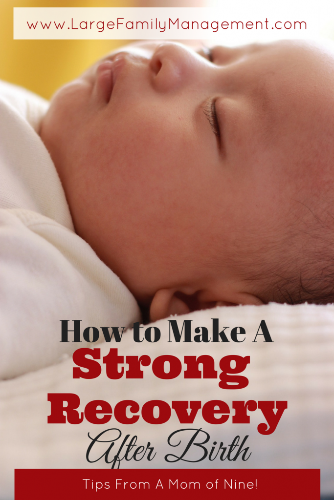 How to Make a Strong Recovery After Birth